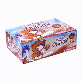 Véritable Petit Ourson Chocolat Lait (par 48) (lot de 2)