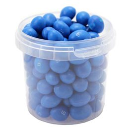 M&M's Blue Peanut Box Bleu (lot de 4)