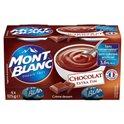 Mont Blanc Crème Dessert Chocolat (lot de 2)