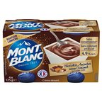 Mont Blanc Crème Dessert Choco-Amandes (lot de 2)
