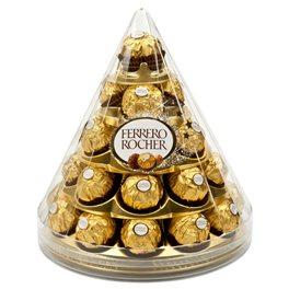 Ferrero Rocher Cône de Noël (28 bouchées) (lot de 2)