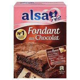 Alsa Préparation Fondant au Chocolat (lot de 2)