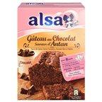 Alsa Préparation Gâteau Chocolat D'Antan (lot de 2)
