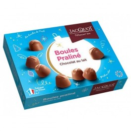 Jacquot Boules Praliné De Noël Au Chocolat Au Lait 1Kg