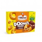 St Michel Doonuts Fourrés Chocolat 180g (lot de 10)