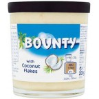 Bounty Pâte à Tartiner avec Pépites de Coconut 200g (lot de 2)