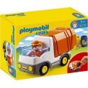 PLAYMOBIL 6774 1.2.3 - Camion Poubelle