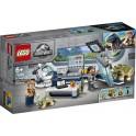 LEGO Jurassic World 75939 - Le labo de Dr Wu : l'évasion des bébés dinosaures