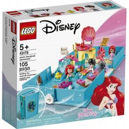 LEGO Princesses Disney 43176- Les Aventures d'Ariel dans un Livre de Contes