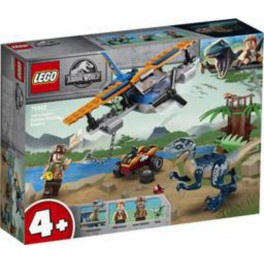 LEGO Jurassic World 75942 - Vélociraptor : la mission de sauvetage en avion