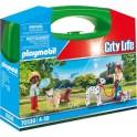 Playmobil 70530 - City Life - Valisette Enfants et chiens