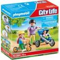 Playmobil 70284 - City Life - Maman avec enfants