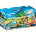 Playmobil 70344 - Family Fun - Panda roux avec enfants