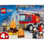 LEGO City 60280 Le camion des pompiers avec échelle et mini figurines de pompier