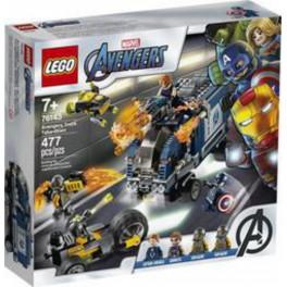 LEGO Super Héros Marvel 76143 - TBD L'attaque du camion des Avengers