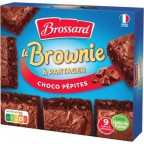 Brossard BROWNIE CHOCO PEPITES 9 parts 285g (lot de 3)