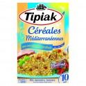 Tipiak Céréales Méditerranéennes avec une Pointe de Persillade Blé Épeautre Tomates par 2 Sachets 400g (lot de 4)