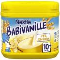 Nestlé Babivanille 75% Céréales 400g (lot de 3)