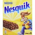 Nestlé NESQUIK Barres de céréales au chocolat 6 barres 150g (lot de 10)