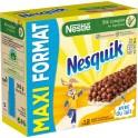 Nestlé NESQUIK Barres de céréales au chocolat 12 barres 25g maxi format 300g (lot de 3)